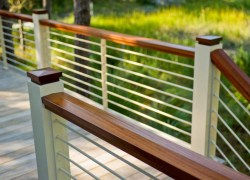 Small Of Horizontal Deck Railing