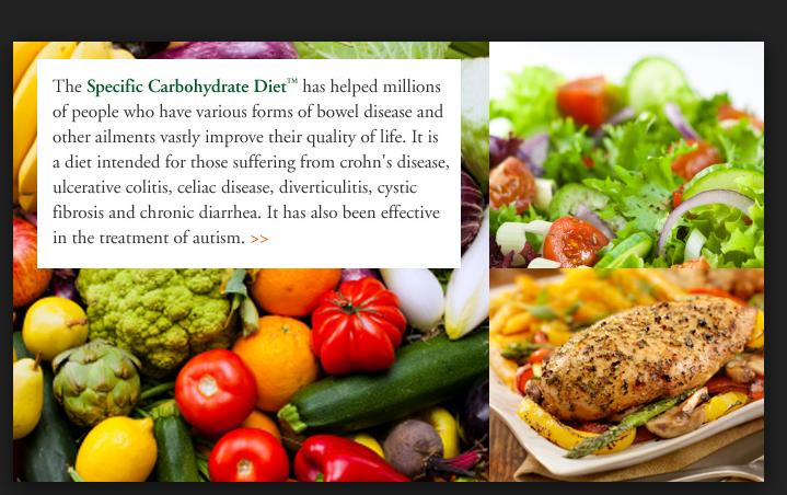 IBD Crohn's: SCD increased microbiome diversity but Low Residual Diet reduced diversity