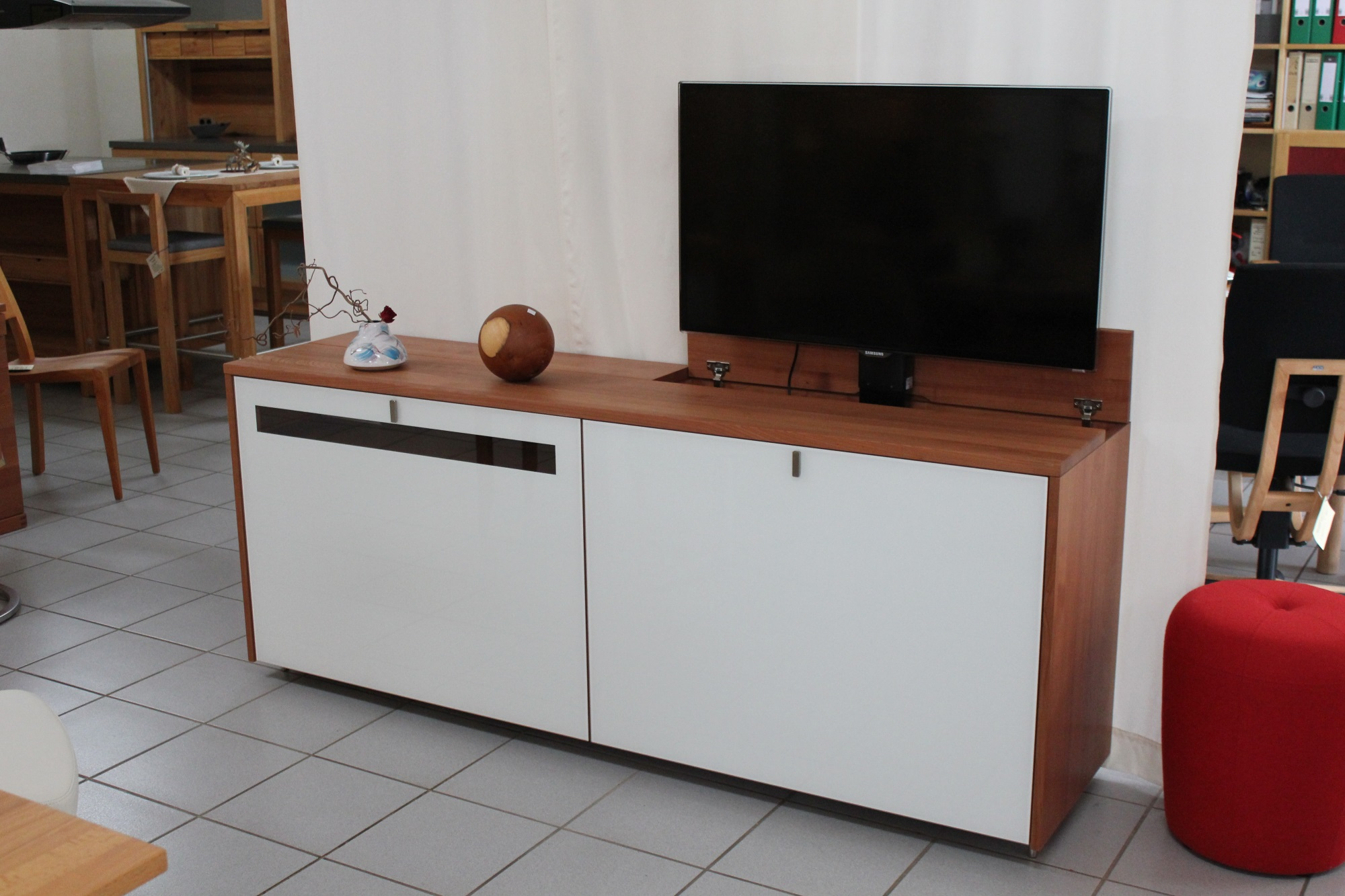 Tv Lift Sideboard Kaufen Sideboard Cubus Tv Lift Biomöbel Bonn