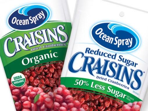 Craisins: packaging design refresh