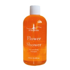 gel douche shampoing orange aura-soma