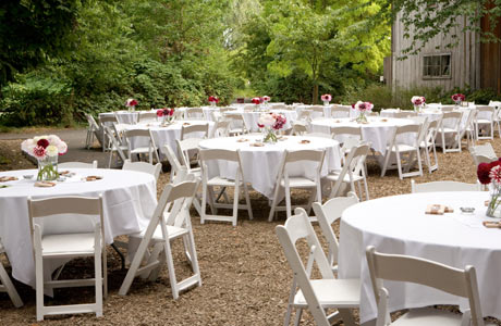 wedding round tables - Towerssconstruction