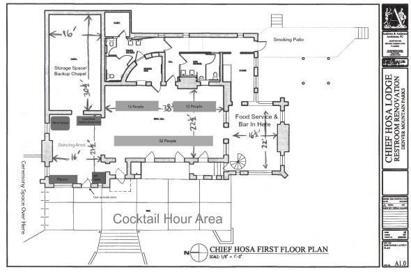 Long banquet tables versus round seating? Wedding floor plan issues