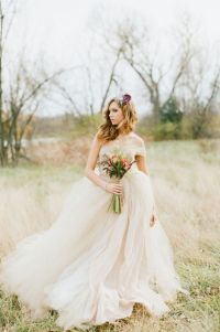 Wedding dress! Whimsical tulle ballgown | Weddingbee Photo ...