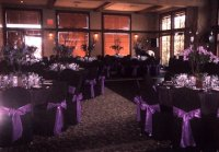 Janeika's blog: Purple silk table cloths with sparkling ...