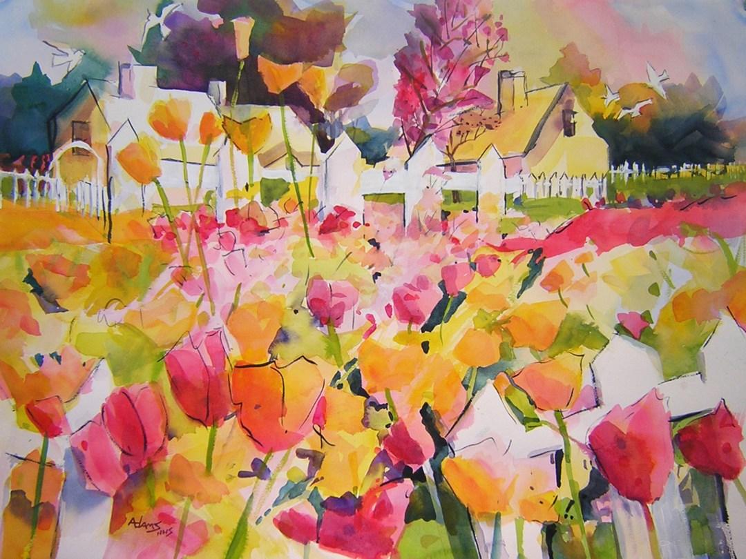 Watercolors with John Adams