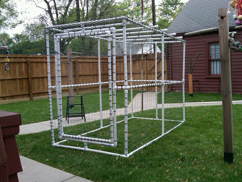Diy Bird Feeder Cage Diy Outdoor Bird Aviary Birdcage Design Ideas