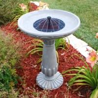 DIY Solar Heated Bird Bath | Birdcage Design Ideas