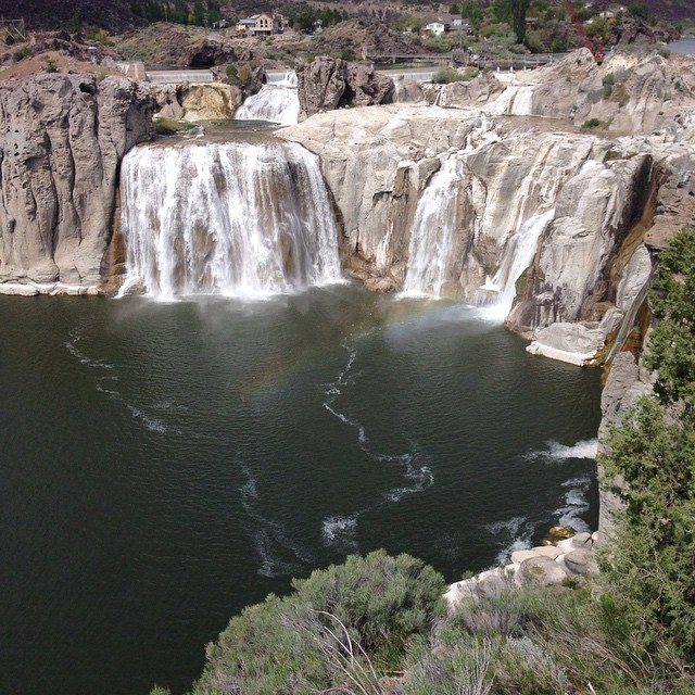 Shoshone Falls, Magic Valley #roadtrip #idaho #idahogirl