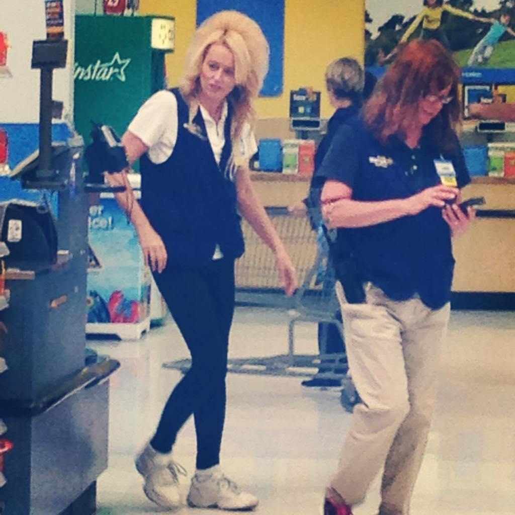 David Bowie works at my local Walmart peopleofwalmart
