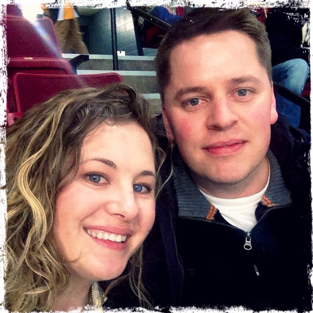 #datenight at Idaho Steelheads game #centurylinkselfie #hockey #steelheads