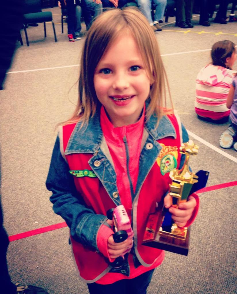 Lylas first year at the AWANA Grand Prix and sheshellip