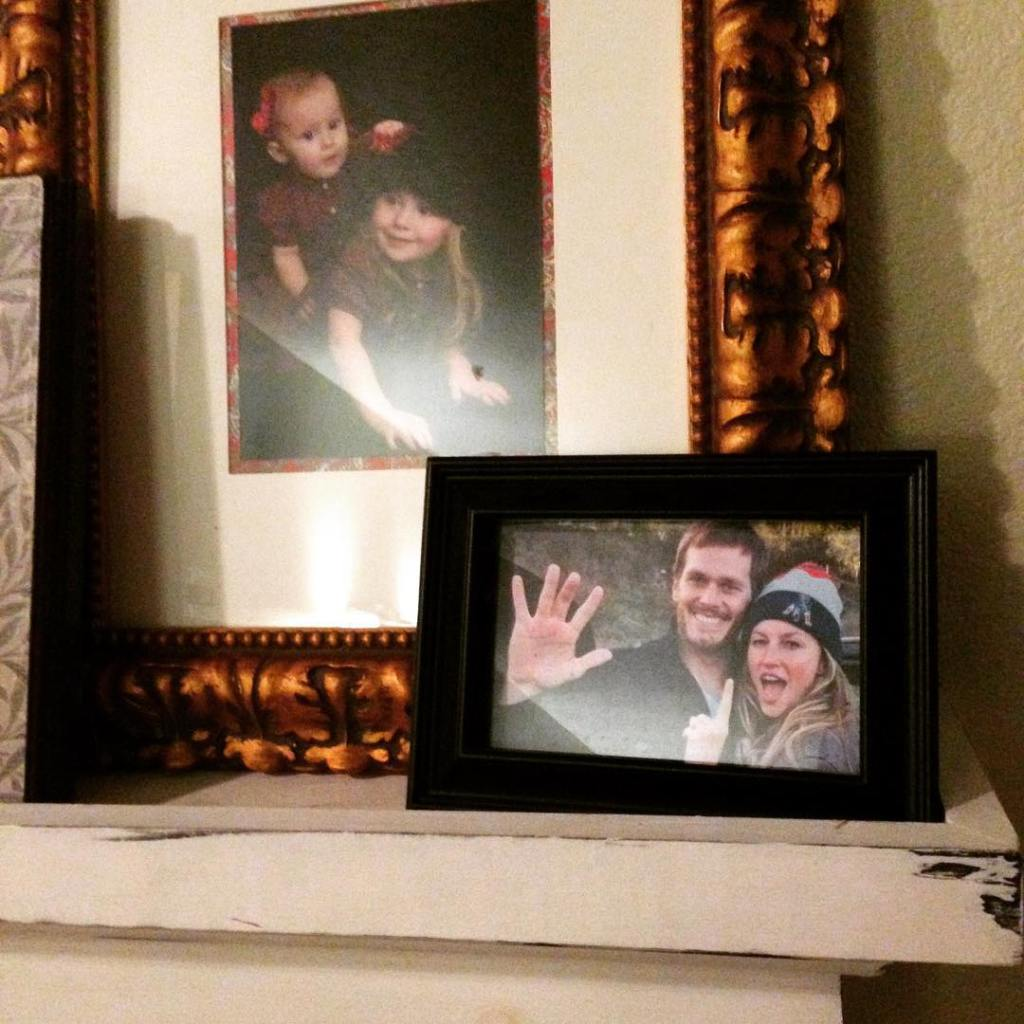Finally getting some of those family pictures hung after ourhellip