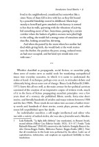 Interior page with long-form block quotes. I Belong Only to Myself, AK Press, 2014