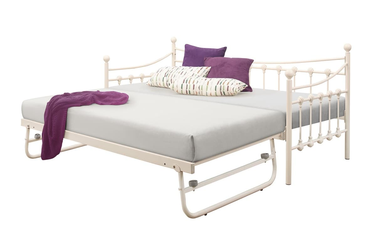 Day Bed Trundle Bed Chantele Day Bed And Trundle Cream Birlea Kids Beds