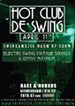 Hot Club 11th April - flyer, sm