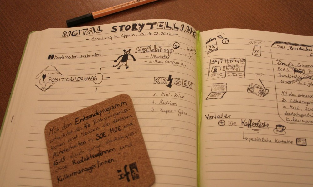 Workshop zu Digital Storytelling in Polen