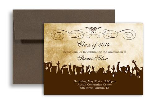 graduation party invitation insert templates - senior party invitations