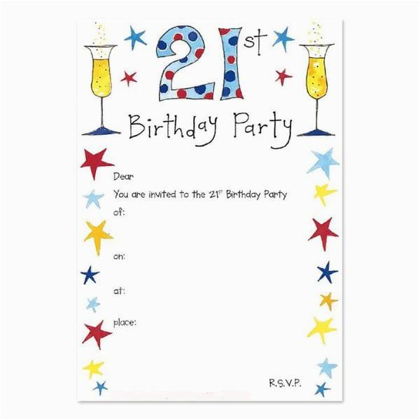 21st Birthday Invitations for Guys Birthday Invitations Free 30