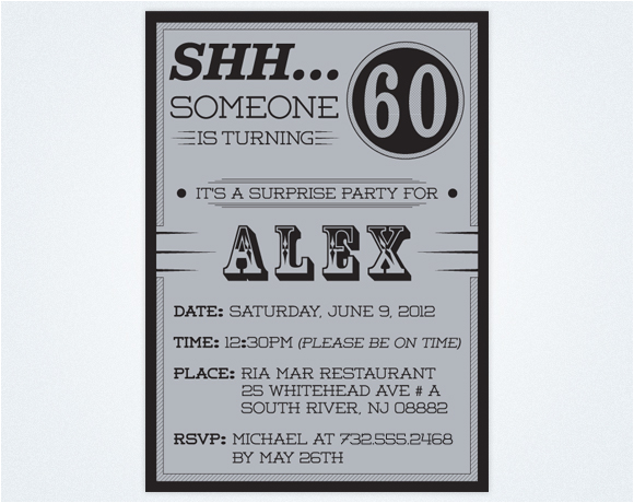 60th Birthday Party Invitations for Her Free Printable 60th Birthday