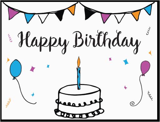 Free Printable Online Birthday Cards Free Printable Birthday Card