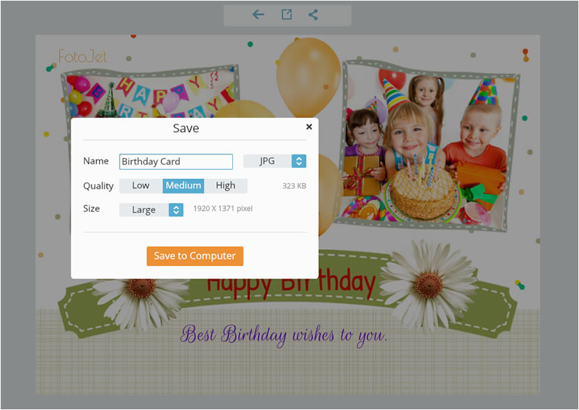 Make and Print Birthday Cards Make Free Printable Birthday Cards for