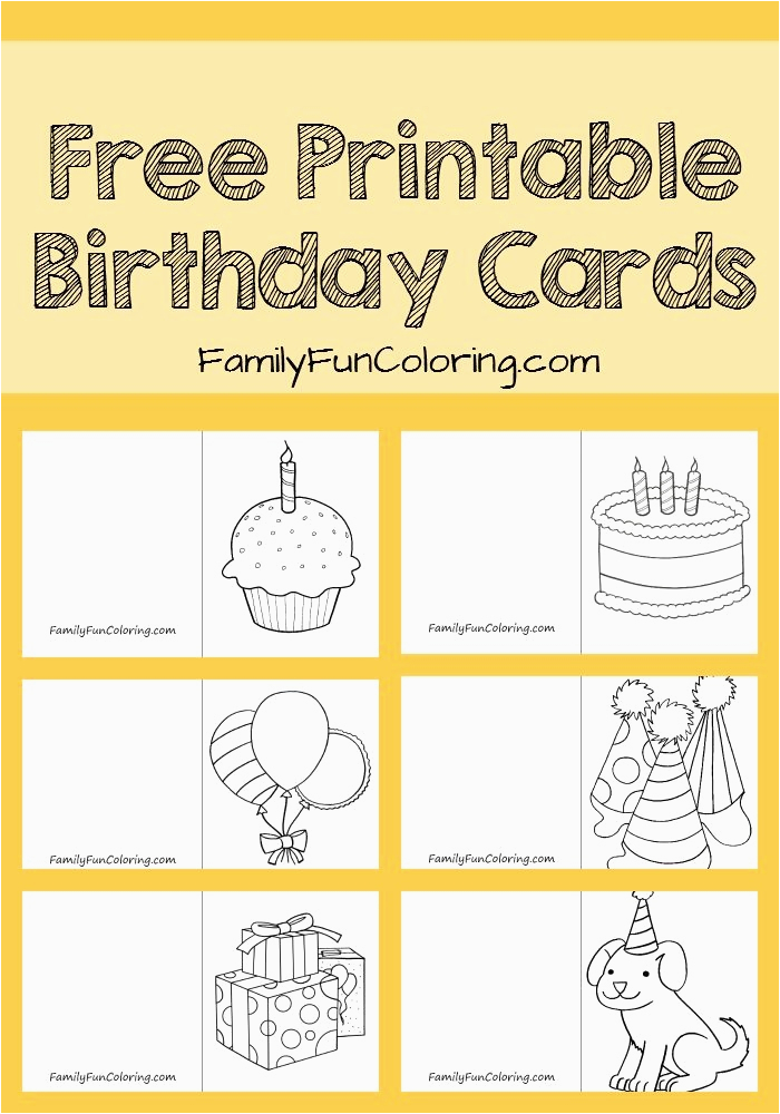 Print Off Birthday Cards Free Free Printable Birthday Cards for Boss