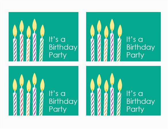 Word Birthday Invitation Template 26 Free Printable Invitation