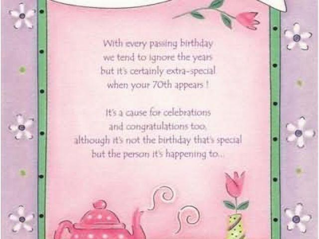 Free Printable 70th Birthday Cards