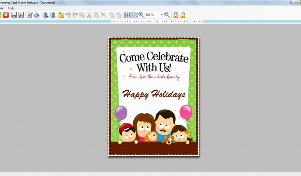 95+ Custom Birthday Card Maker Free - Online Greeting Card Template