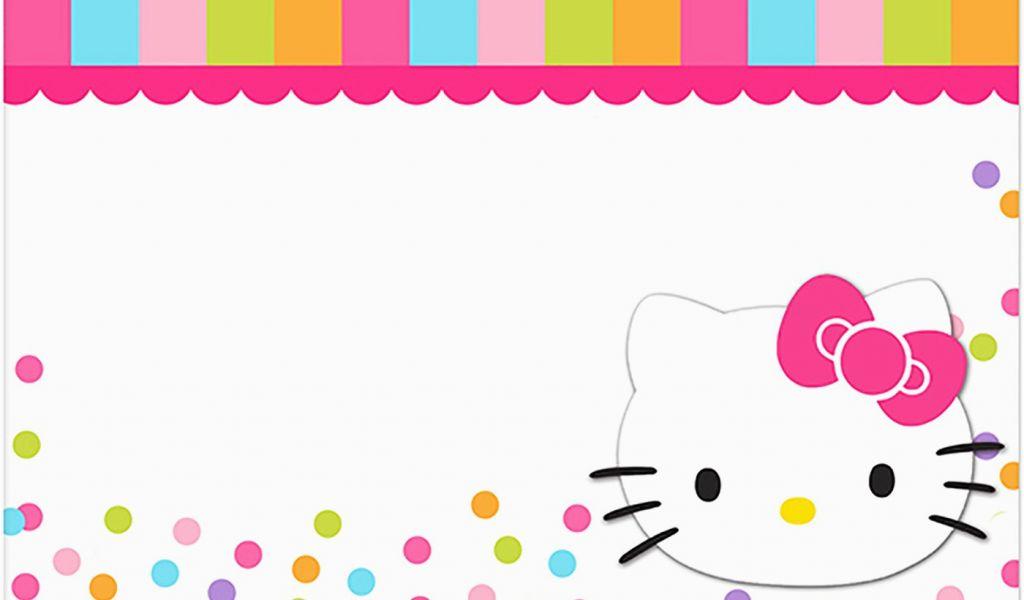 Hello Kitty Birthday Invites Free Printables Hello Kitty Free