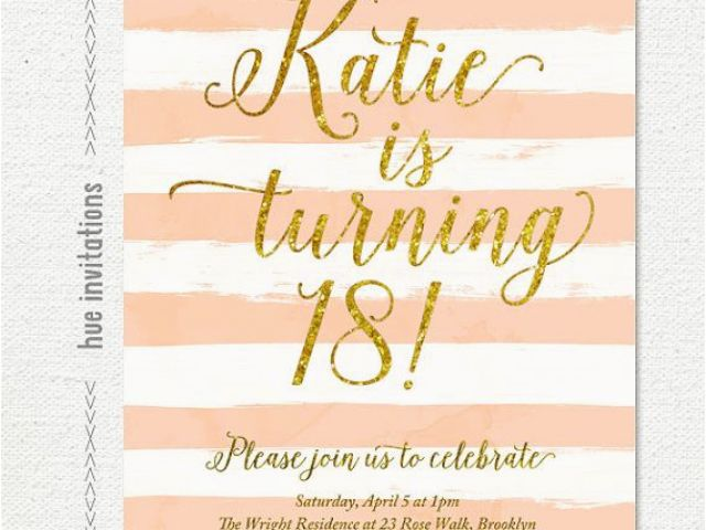 Send Birthday Invitations Online Digital Printable 5×7 Invitation