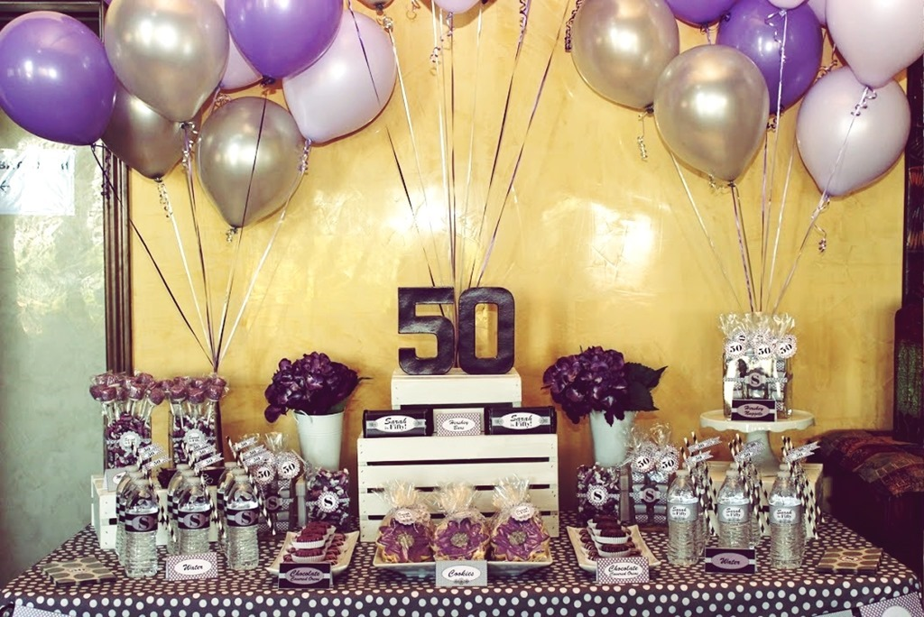 Perfect 50th Birthday Party Themes