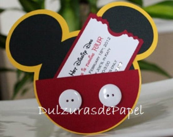 20 Awesome Mickey Mouse Birthday Party Ideas Birthday Inspire - unique mickey mouse invitations