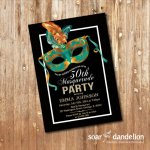 Masquerade Birthday Party Ideas