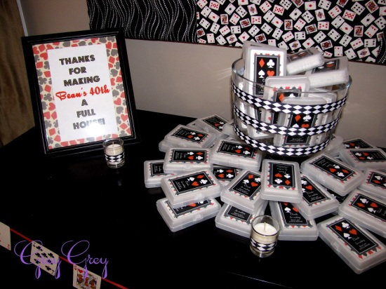 Baby Twins Gift Ideas 40th Las Vegas Casino Birthday Party Birthday Party