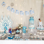 Glamorous Frozen Birthday Party