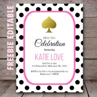free-editable-kate-spade-bridal-shower-birthday-party-invitation-polka-dots