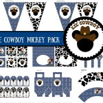 FREE Lil Cowboy Mickey Mouse Printable