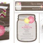 Rustic Floral Party Decorations
