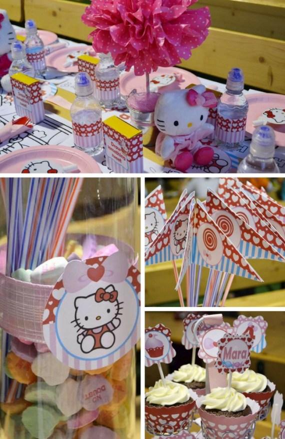 Hello-Kitty-inspired-4th-Birthday-party