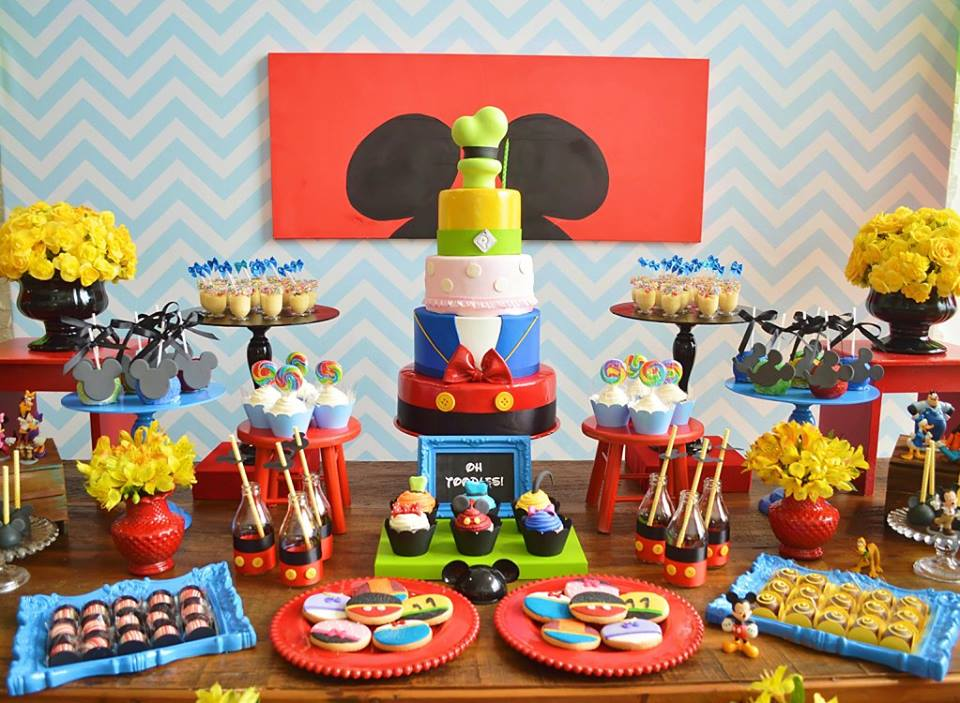 Mickey Mouse First Birthday Adventure - Birthday Party Ideas & Themes