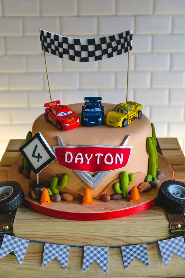 Speedy Lightning McQueen Birthday Party Birthday Party Ideas Themes