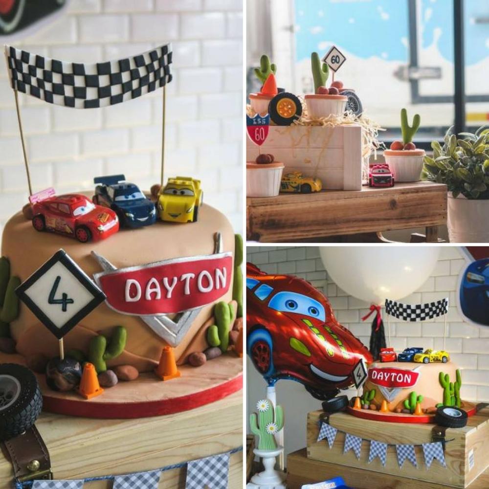 Speedy Lightning McQueen Birthday Party Birthday Party Ideas Themes