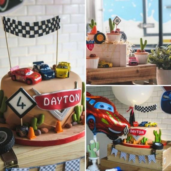 Speedy Lightning McQueen Birthday Party
