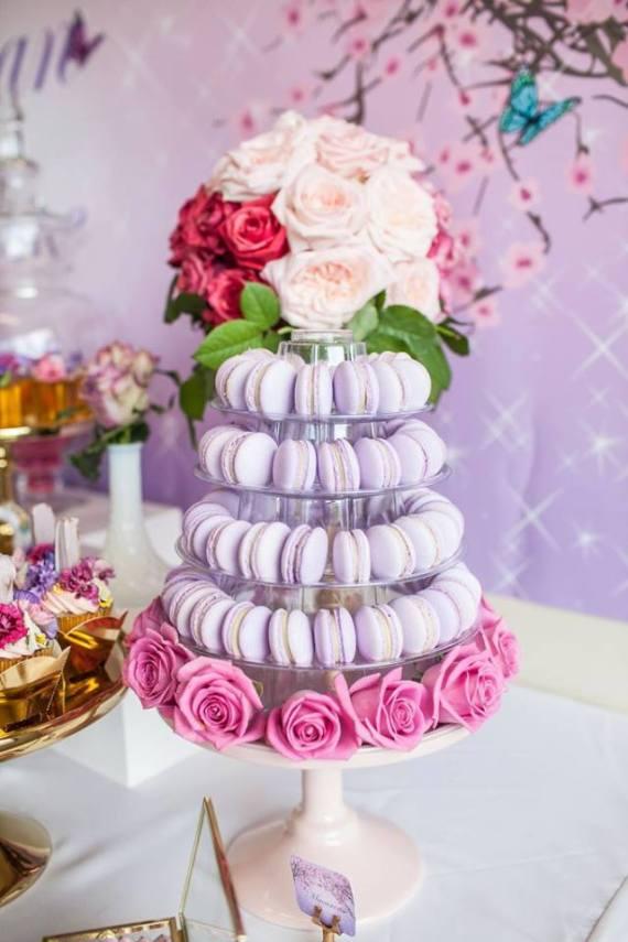 Colorful-Secret-Garden-Birthday-Party-Macarons