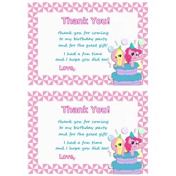 Small Crop Of Birthday Thank You Cards
