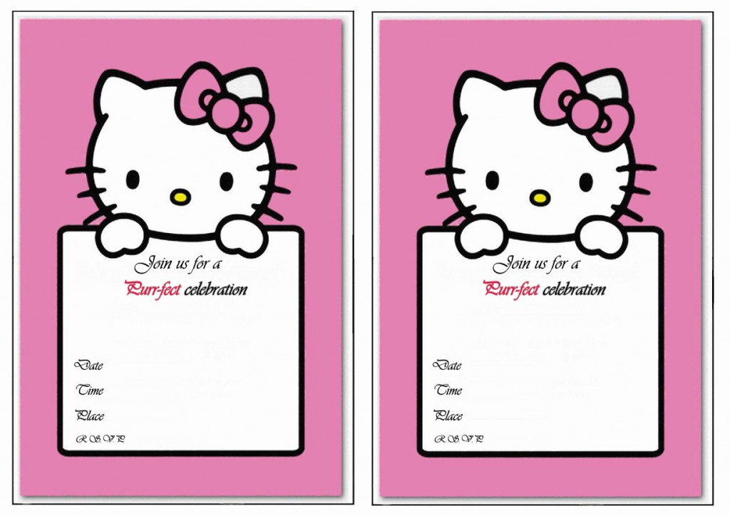 printable hello kitty birthday invitations hgvi