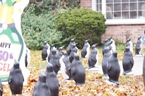 Penguin Lawn Ornaments