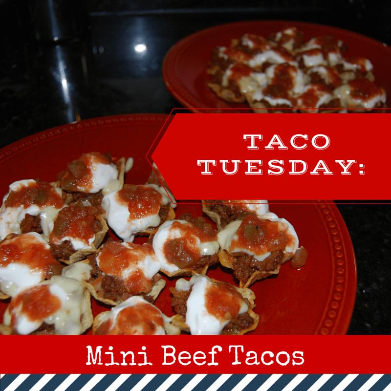 TACO TUESDAY: Mini Tacos